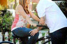 Matt and Amie's bike Engagement Pictures in Orange Circle_0402