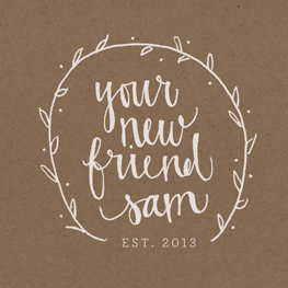 Your New Friend Sam, Etsy Shop