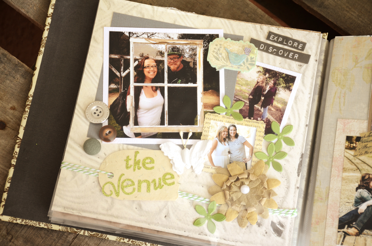 Unique Gift Idea For The Bride Bridal Beauty Scrapbook Of All The