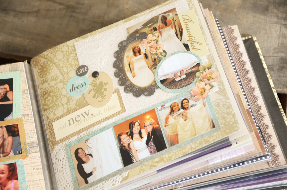 Wedding Planning Gift For Bride: Unique Gift Idea For The Bride: Bridal Beauty Scrapbook Of