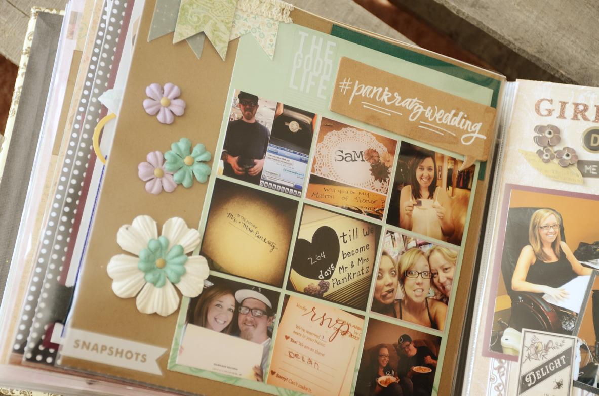 Scrapbook ideas adventure - Bridal Scrapbook 0779