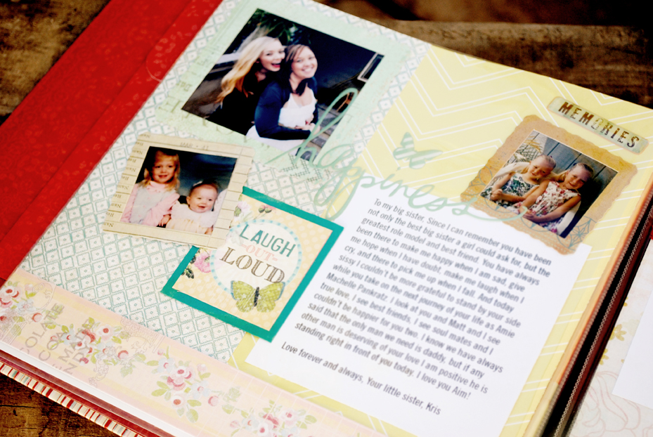 Scrapbook 0001 Gift For The Bride Letter 0003