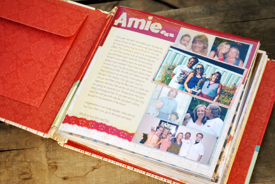 A Gift From The Bridesmaids And Maidmatron Of Honor A Scrapbook Of