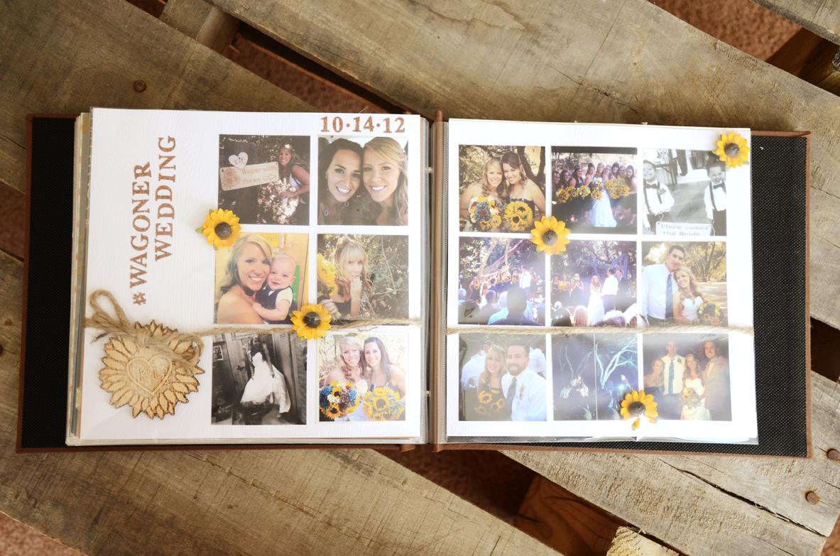 Unique Gift Idea For The Bride Bridal Beauty Scrapbook Of