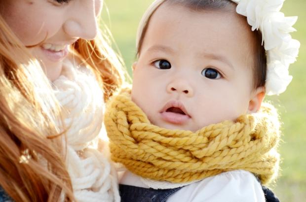 mama and mia scarf mustard baby 82