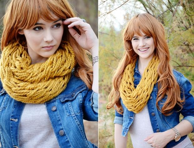 mama and mia scarf mustard women 32
