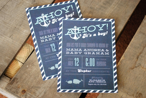 nautical anchor boy invitations blue shower invite a printable on s kaitlynbreannb pinterest baby navy its images chevron ahoy best showers it and invitation red