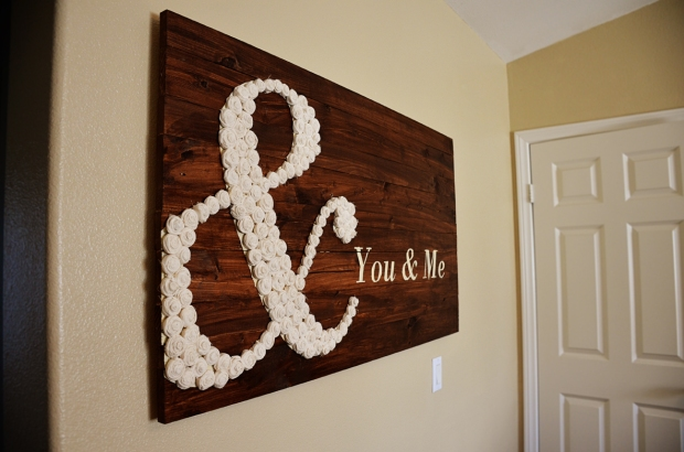 DIY You & Me wall art 44