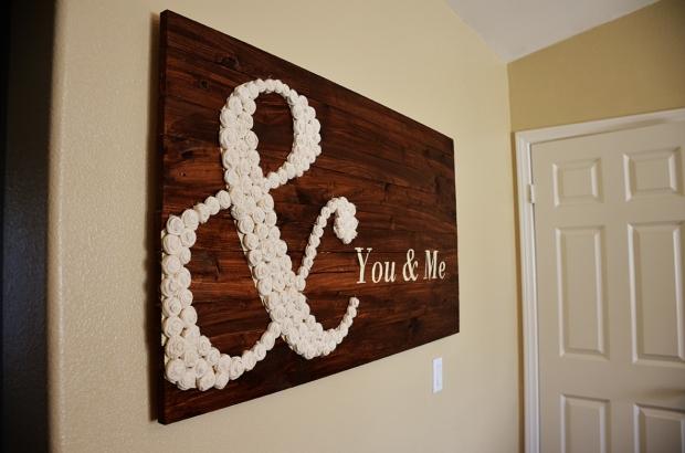 DIY You & Me wall art 44