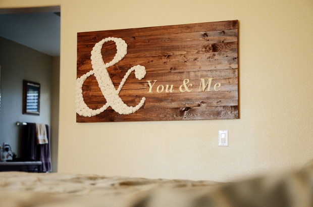 DIY You & Me wall art 65