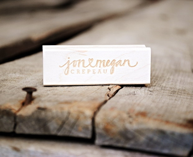 your new friend sam rubber stamps-2-line-custom-stamp-jon<3megan-crepeau