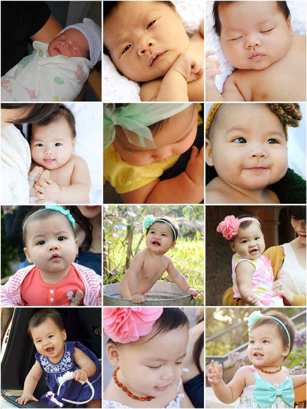 Amelia's First Year in Photos, Sam Allen Creates