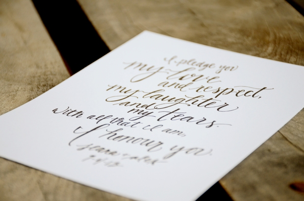 Your New Friend Sam Etsy Footloose Handwritten Wedding Vows 116