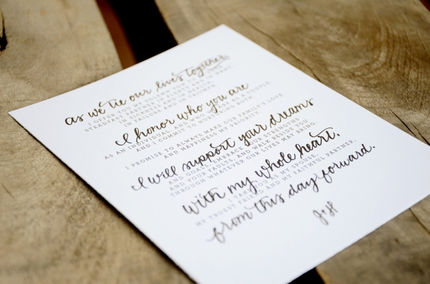 Your New Friend Sam Etsy Footloose Handwritten Wedding Vows 126