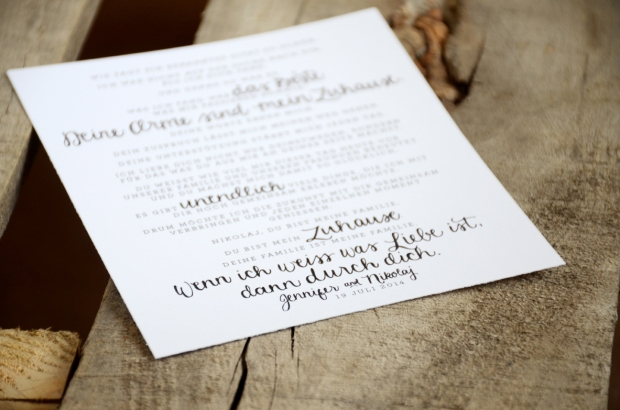 Your New Friend Sam Etsy Smiling Bubbly Handwritten Wedding Vows Jennifer Nikolaj German 550
