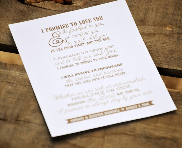 Your New Friend Sam Etsy Typography Wedding Vows 81
