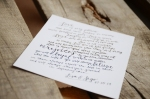 Your New Friend Sam Etsy Whimsical Handwritten Wedding Vows Lisa Sego 524