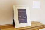 Your New Friend Sam Typography Bones Wedding Vows Print, Photo by J. Rose Photography