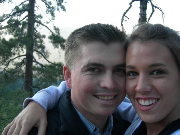 Our last selfie photo as boyfriend and girlfriend.