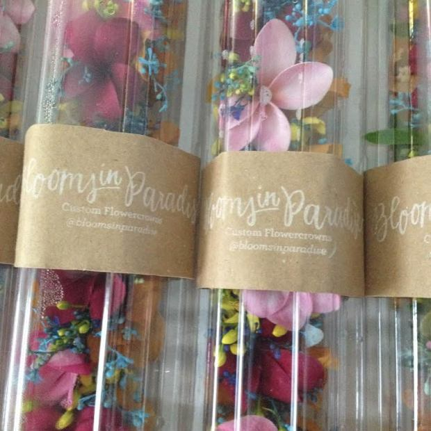 blooms in paradise shop rubber stamp from Your New Friend Sam