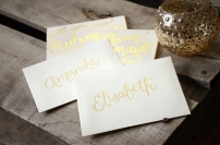 Personalized Cream Envelopes
