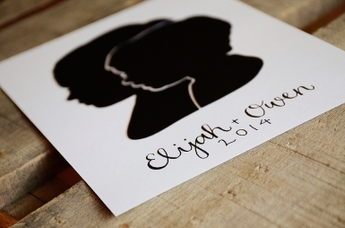 Papercut Silhouette from Your New Friend Sam on Etsy 28