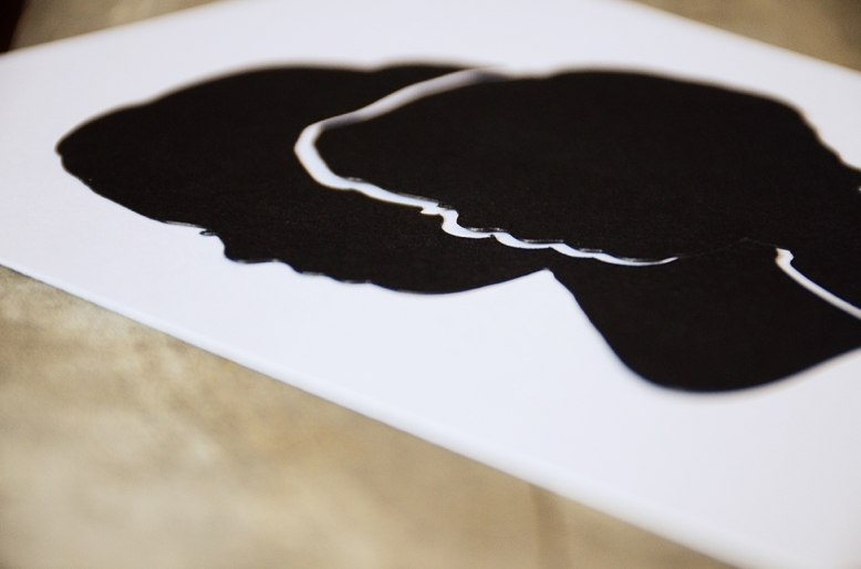 Papercut Silhouette from Your New Friend Sam on Etsy 73