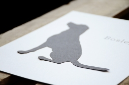 Your New Friend Sam Pet Dog Silhouette 997