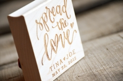 Your New Friend Sam - Spread the Love Rubber Stamp