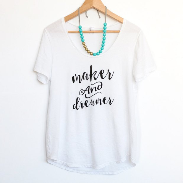 Maker and Dreamer shirt