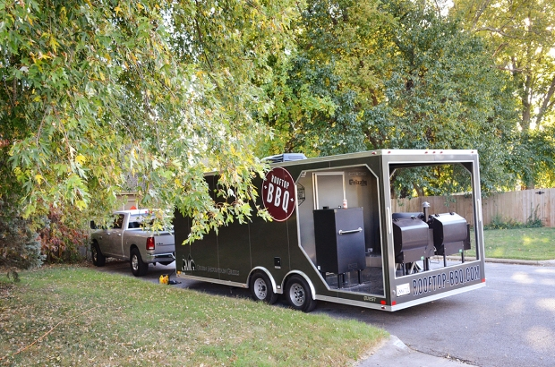 Rooftop BBQ Trailer in Missouri