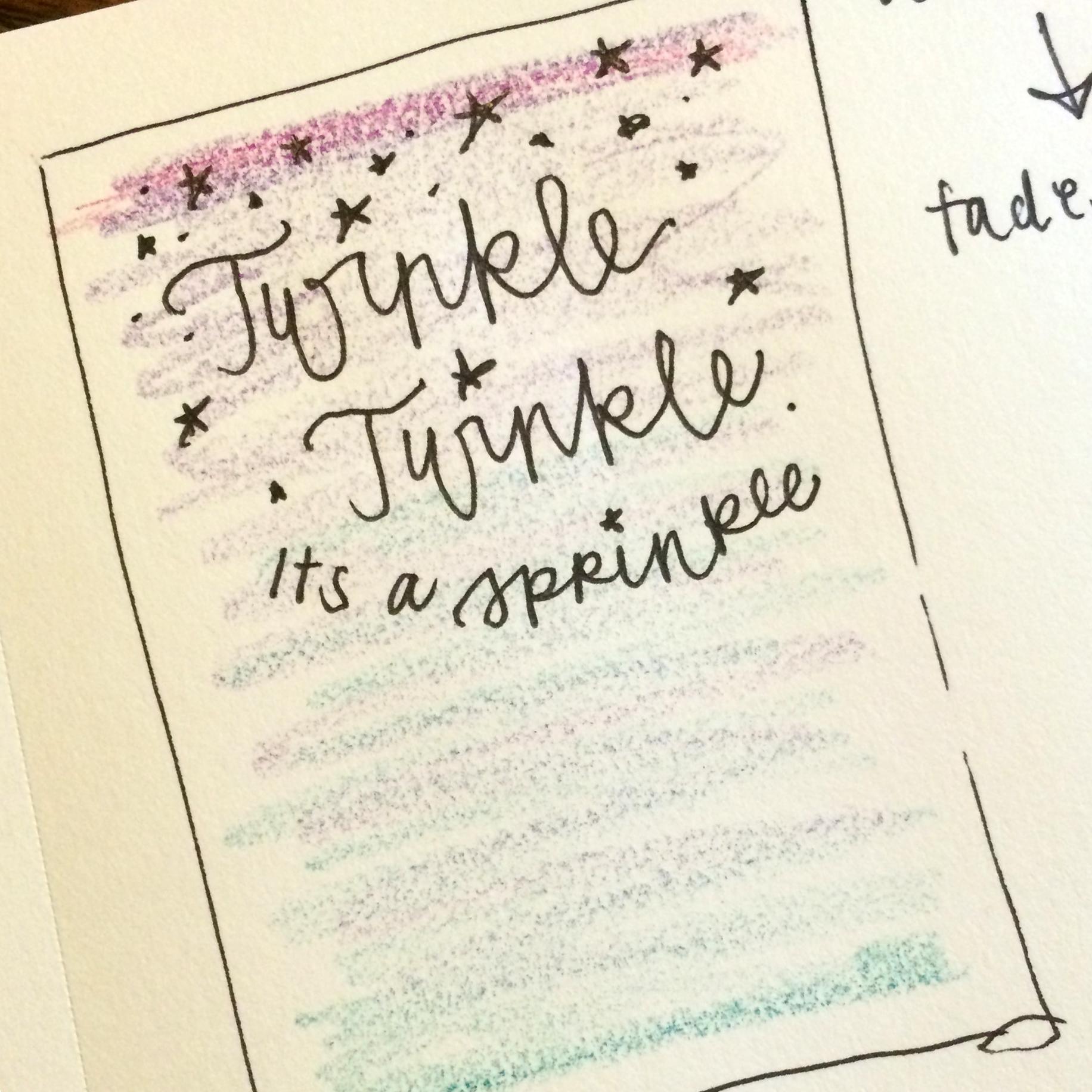 Trisha\'s Hand Painted Watercolor Twinkle Twinkle Sprinkle Baby ...