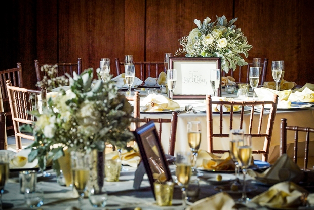 Heather Elise Photography crossings at carlsbad tablescape lettering for centerpieces by Sam Allen Creates 2