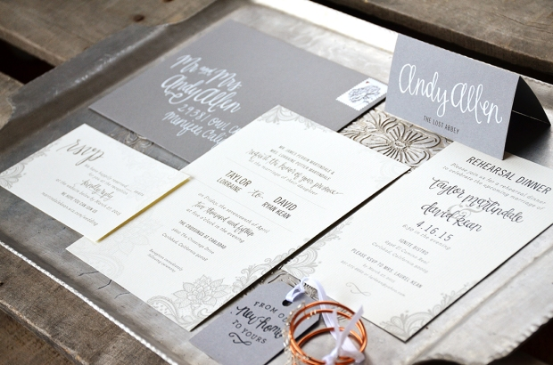 Sam Allen Creates Wedding Invitation Suite for Taylor full2