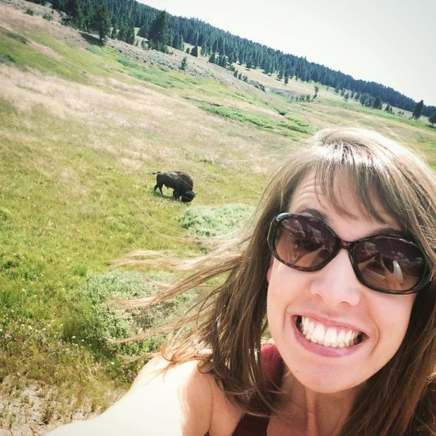 Sam Loves Buffalo Selfie