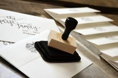 Isaiahs Birth Announcement Address Stamp 2