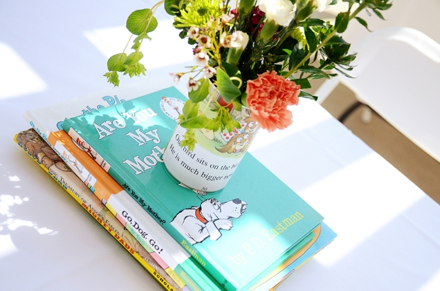 Storybook Baby Shower Centerpiece
