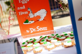 Storybook Baby Shower Green Eggs and Ham