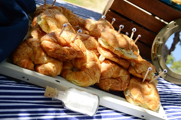 Sams Nautical Baby Shower Food Crab Croissant