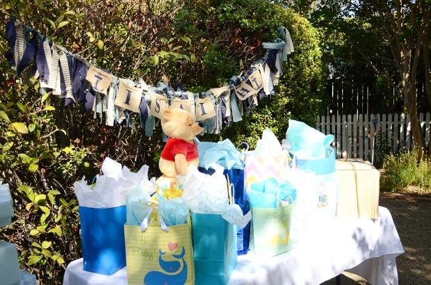My nautical baby shower sam allen creates sams nautical baby shower gift table negle Gallery