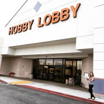 Sam Allen Creates for Hobby Lobby