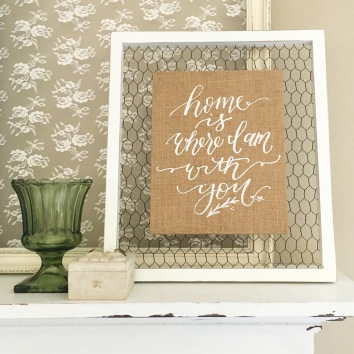 Sam Allen Creates for Home Goods - Home is Where I am With You