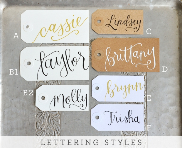 Your New Friend Sam, Handwritten Name Tags Lettering Styles