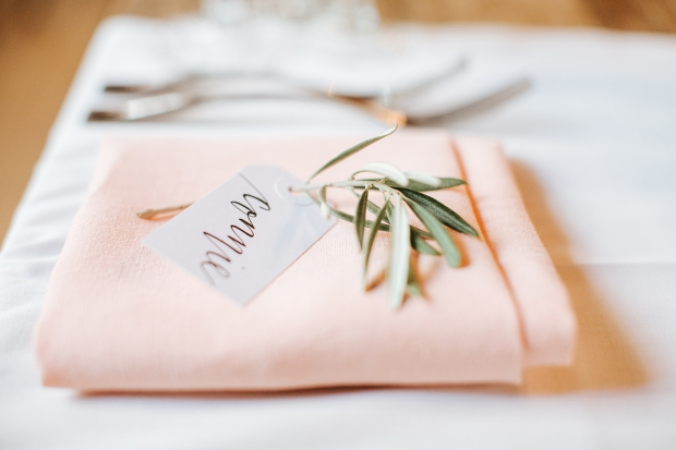 Your New Friend Sam Wedding Calligraphy Handwritten Name Tag Placecards Michael Costa Photography