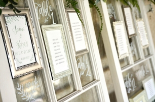 Sam Allen Creates Wedding Seating Chart on Windows Title Frame